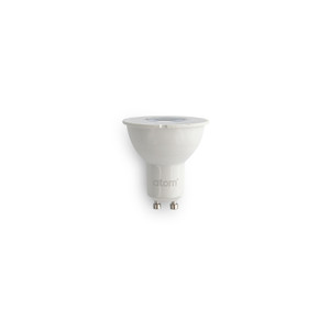 4W GU10 LED Lamp. Non Dimmable with Lens