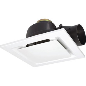 The Sarico-II is a square exhaust fan with removable cover along with a whisper quiet ball bearing motor. Features easy installation clamps to secure fan into place, a 150mm side exhaust duct to prevent ceiling objects falling through and side damper. Requires a switched surface socket for DIY installation.