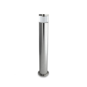 12V Bollard with Clear Diffuser. MR16 Lamp Holder. Lamp not Included
