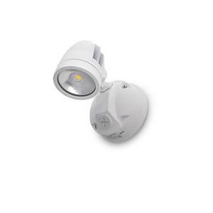 11W IP44 LED Single Spotlight White