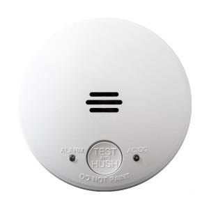 Lifesaver Silhouette 240V Photoelectric Flush Smoke Alarm