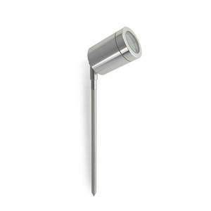 MR16 12V Led Garden Spike light Silver