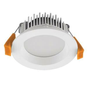 DECO-8 Round 8W Dimmable LED Downlight - White Frame