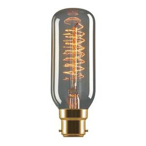 Tungsten 25W Carbon Filament Mini Banana Shaped Lamp 240V - B22 or E27
