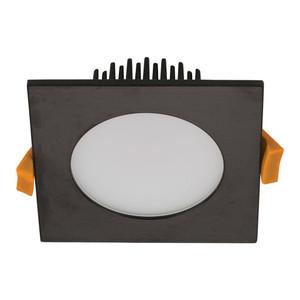 SPLASH-13-SQR Square LED Down Light IP54 - Black