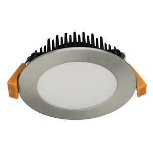 TEK-10 10W Dimmable LED Downlight - Satin Chrome