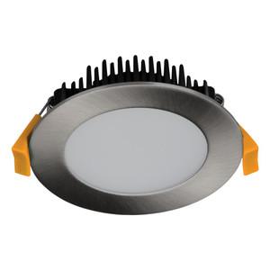 TEK-13 13W Dimmable LED Downlight - Satin Chrome