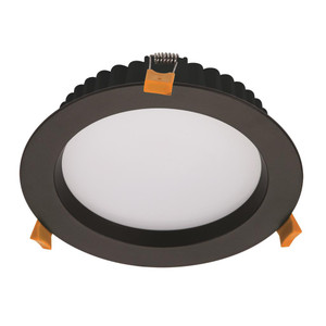 DECO-20 Round 20W Dimmable LED Downlight - Black Frame