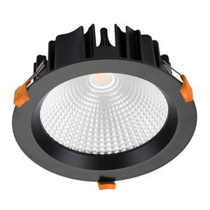 NEO-25 Recessed LED Downlight - Matt Black