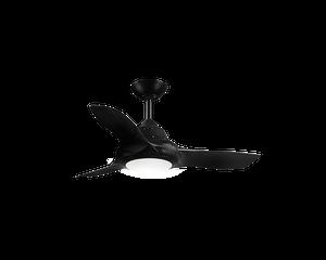 """EVO II 36"""" Ceiling Fan with Light Black"""