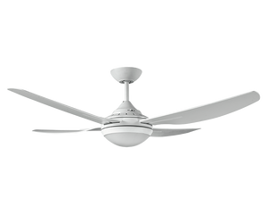 """INGRAM 52"""" Ceiling Fan with Light White"""