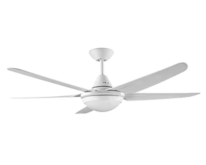 """RANDLE 52"""" Ceiling Fan with Light White"""