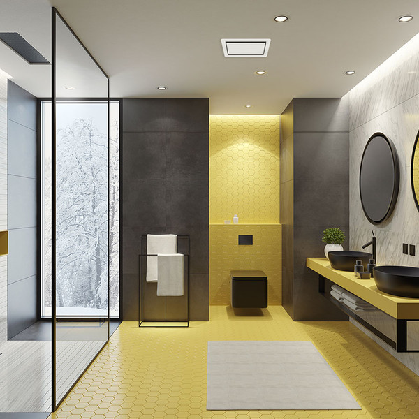 Tastic Luminate Heat Module - Bathroom Ceiling Heater - White