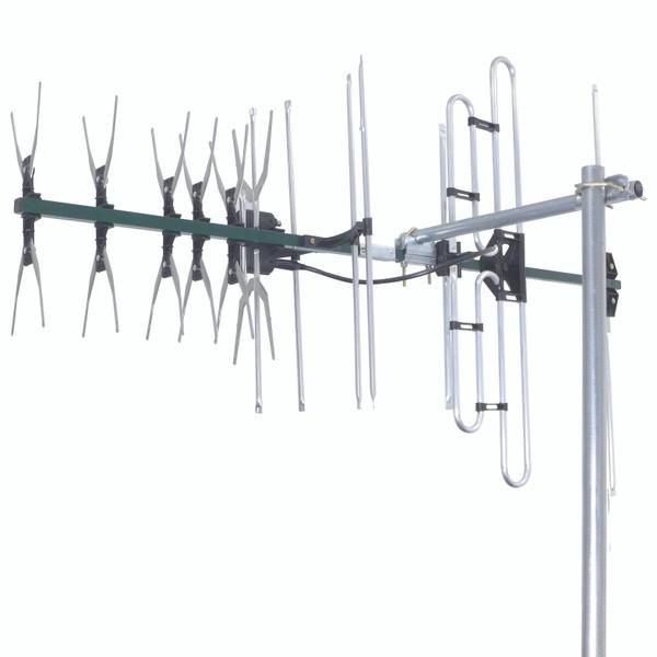 Digital TV Antenna VHF/UHF 27 Elements