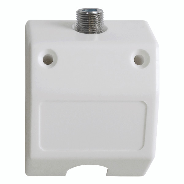 Outlet Skirting Plate White 3GHz