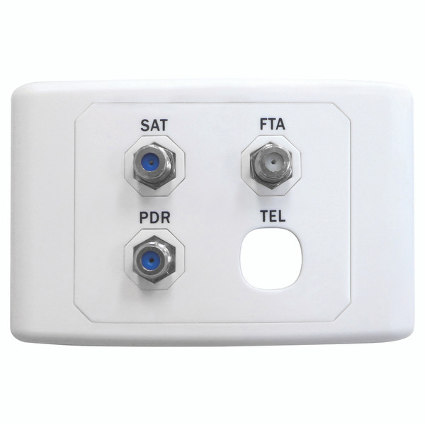 Satellite / FTA / PDR Outlet Plate