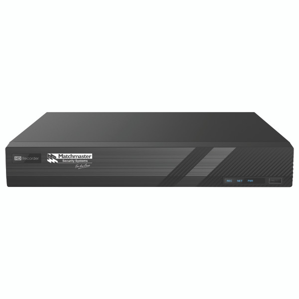 Professional 4K UHD 16 Channel NVR with AUX In/Out Interface