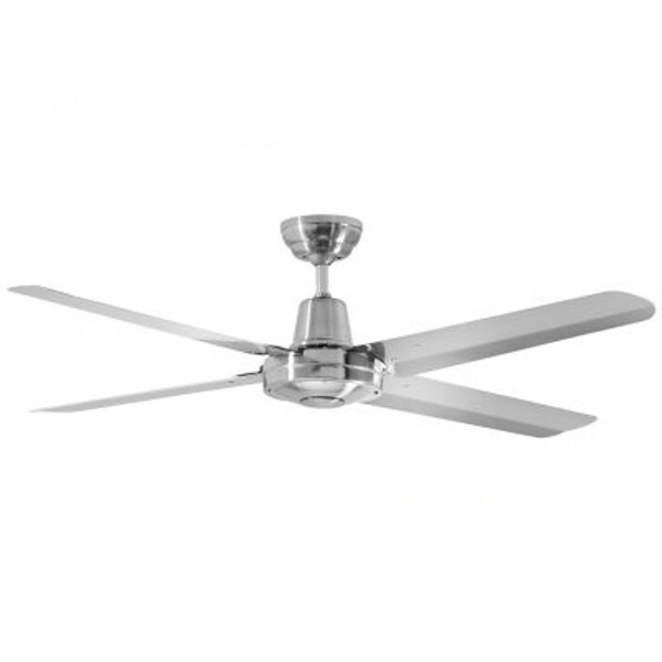 """Precision 48"""" Ceiling Fan 304 Brushed Nickel"""