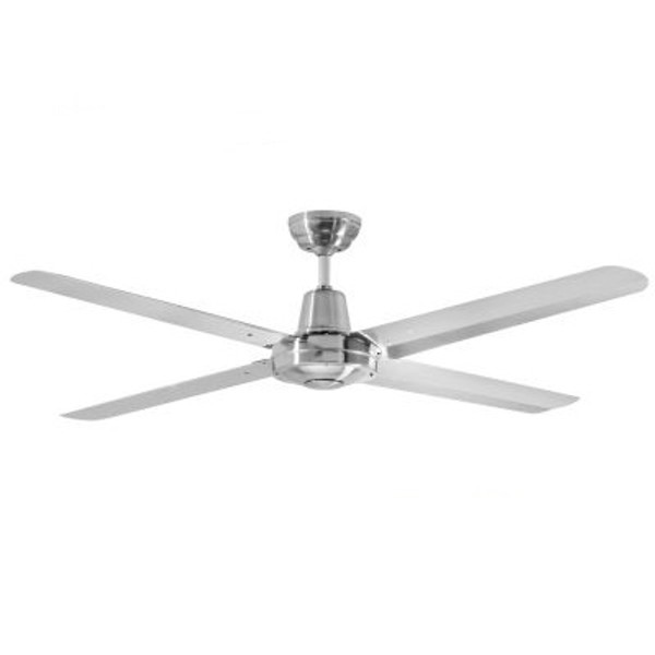 """Precision 52"""" Ceiling Fan 316 Stainless Steel"""