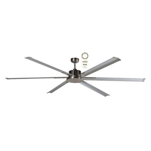 """The Albatross 72"""" DC ceiling fan is a powerful and efficient ceiling fan thanks to its 35W brushless DC motor. The ceiling fan is also available in an 84"""" (2100mm) diameter. This ceiling  fan Includes a 5 speed remote control with a timer and reverse functions, for added convenience."""