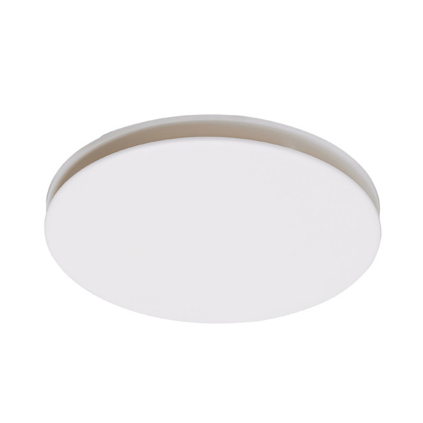 A circular exhaust fan featuring a low profile, slim design and high air extraction. Also available with TriColour LED light.
