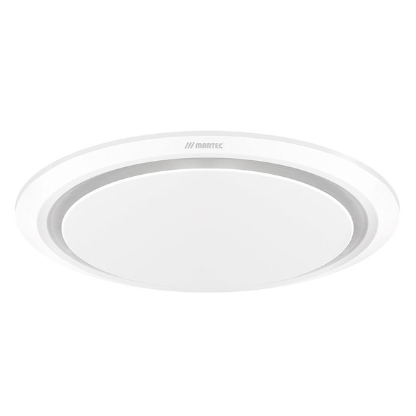 A circular exhaust fan featuring a low profile slim design with 2 sizes and shapes available.