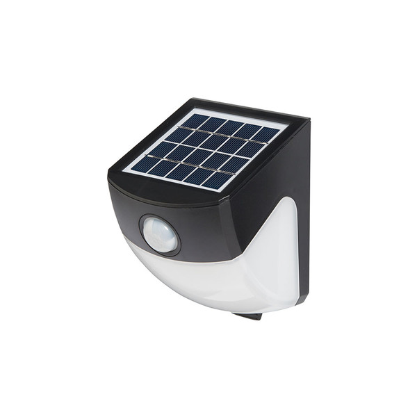 Atlas is a modern, multifunctional LED solar powered wall light that incorporates a PIR motion sensor. This solar light is constructed from durable UV stabilised ABS plastic, making it perfect to provide lighting to general purpose areas such as gardens, pathways, garages and sheds.