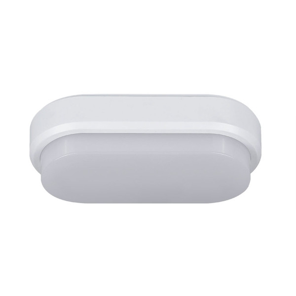 Cove is a bright and durable LED bunker that is ideal for residential, apartment interior or exterior applications. IP 54 ingress protection with switchable colour temperature. Available in two sizes both in oval and round shape. Cove is also supplied with a UV resistant black clip-on trim.