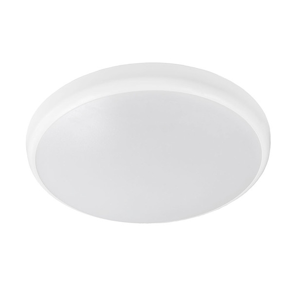 Conrad is a modern and slimline design LED oyster that is ideal for any residential or commercial applications. It comes with switchable colour temperature and available in three sizes/wattages, both in white and matt black finish.