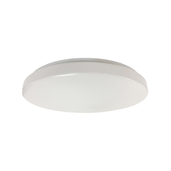 Orbit is a steel base with toughened acrylic diffuser LED oyster that is ideal for residential, apartment interior or a wide range of internal applications. It comes with switchable colour temperature and is available in four sizes/wattages.
