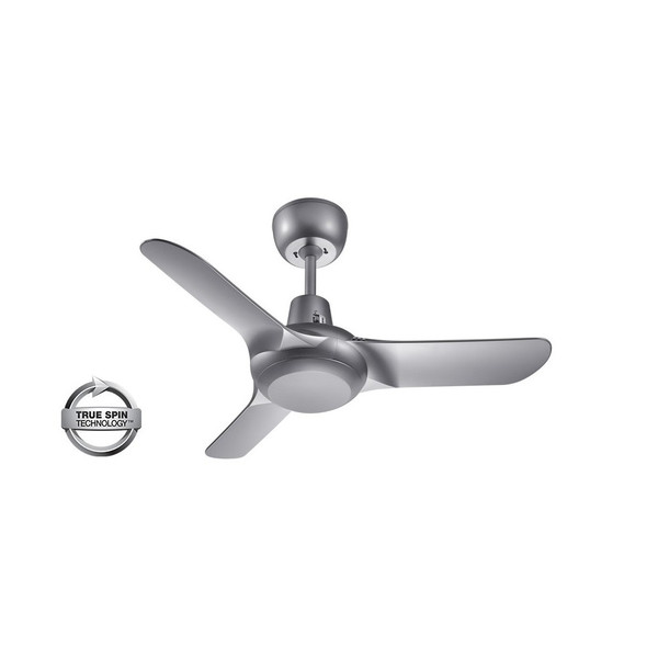 900mm Fully Moulded Plastic Alloy Composite 3 Blade Ceiling Fan with True Spin Technology™ motor. Suitable for both indoor/covered outdoor, coastal and commercial applications.
