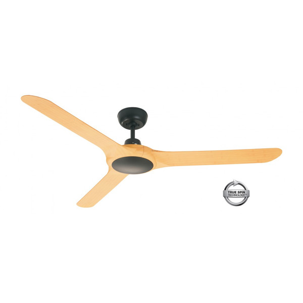 1400mm Fully Moulded Polycarbonate Composite 3 Blade Ceiling Fan with True Spin Technology™ motor. Suitable for both indoor/covered outdoor, coastal and commercial applications.