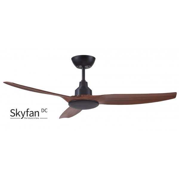 1300mm Intelligent Energy Saving DC 3 Blade Ceiling fan with LCD Remote Control included. Suitable for indoor and covered outdoor use.