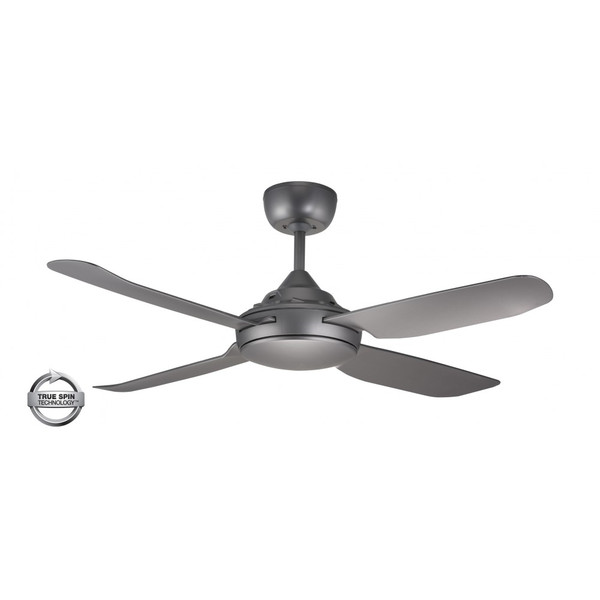 1300mm Glass Fibre Composite 4 Blade Ceiling Fan with True Spin Technology™ motor. Suitable for indoor/covered outdoor and commercial applications.
