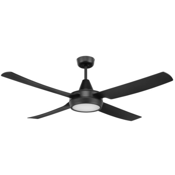 Cruze is a 52 inch ABS plastic ceiling fan and can be installed in any indoor locations or under cover outdoor areas not exposed to the weather around the home. Its Ezy-Fit blade system reduces fan assembly and installation time. It Includes a 18W 1200 lumen max. dimmable & Colour Temperature Adjustable LED Light. The light is switchable between 3000K, 4200K & 6000K.