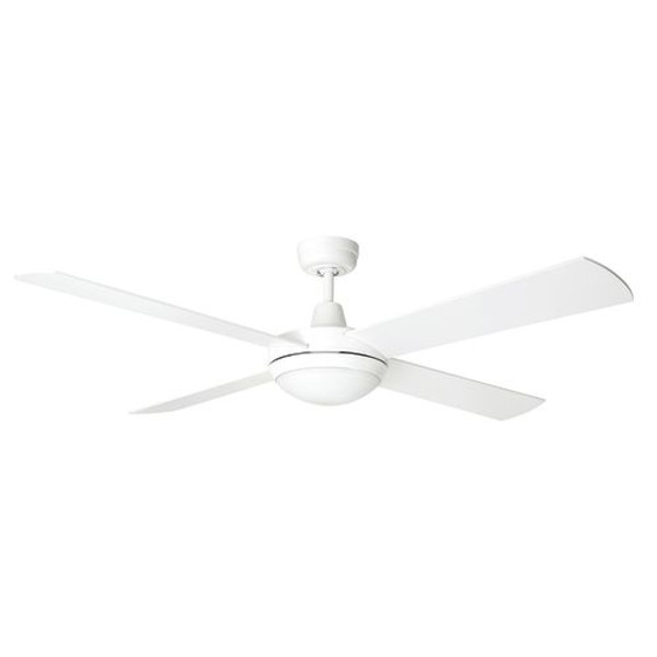The Tempest LED has a new and improved design and uses Brilliant's All-Seasons technology for use all year round. The Tempest is a 52 inch ceiling fan and can be installed in any indoor location around the home. It's size and quiet operation make it ideal for living areas and bedrooms.
