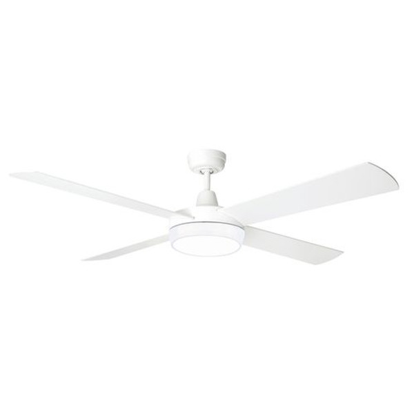 The Tempest Supreme uses Brilliant's All-Seasons technology for use all year round. It is remote adaptable. The Tempest Supreme is a 52 inch ceiling fan and can be installed in any indoor location around the home. It's size and quiet operation make it ideal for living areas and bedrooms.