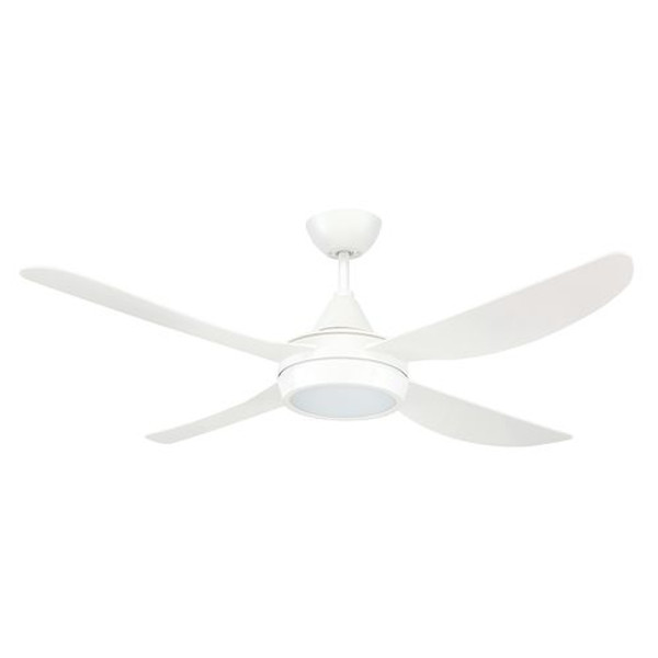 The Vector is a 48 inch ABS plastic ceiling fan and can be installed in any indoor locations or under cover outdoor areas not exposed to the weather. Its Ezy-Fit blade system reduces fan assembly and installation time.