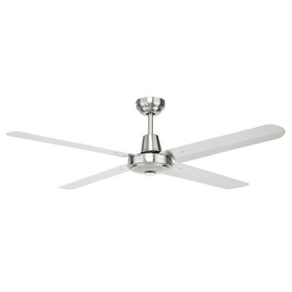 "Atrium 4 Blade 56"" Ceiling Fan 316 Stainless Steel"