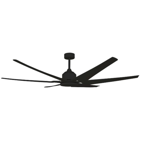 High velocity airflow for large areas with a smooth & quiet operation. Can be installed in any indoor locations around the home. It's industrial size makes it ideal for large open living areas or vaulted ceilings.