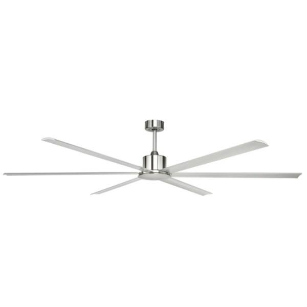 The Hercules 84 inch has High velocity airflow suitable for large areas with a smooth & quiet operation. It can be installed in any indoor locations around the home. It's industrial size makes it ideal for large open living areas or vaulted ceiling.