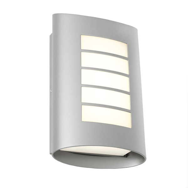 The Bicheno is a stylish, modern 8W LED Exterior Wall Light with Opal Acrylic Lens. Suited to coastal areas and perfect for entrancways and exterior covered walls. Available In Black, Silver and White.