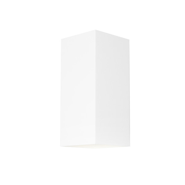 Modern Energy saving LED Exterior Wall Light with White Finish. Perfect for entranceways, patios and exterior under cover walls. Includes 3W LED lamp.