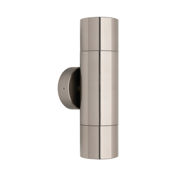 Part of the Stockholm Range, this 2 Light Exterior Up/Down Pillar Wall Light is Perfect for Entranceways and Exterior Walls. Features Titanium Finish and Clear Circular Lens. Coastal and IP65 Direct Outdoor Weather Exposure Rating.
