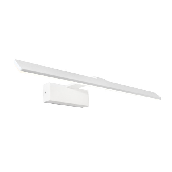 Dex LED Picture Light with Frosted Acrylic Lens. Suitable to Highlight Wall Pictures and Artwork. Includes 18W Dedicated LED.