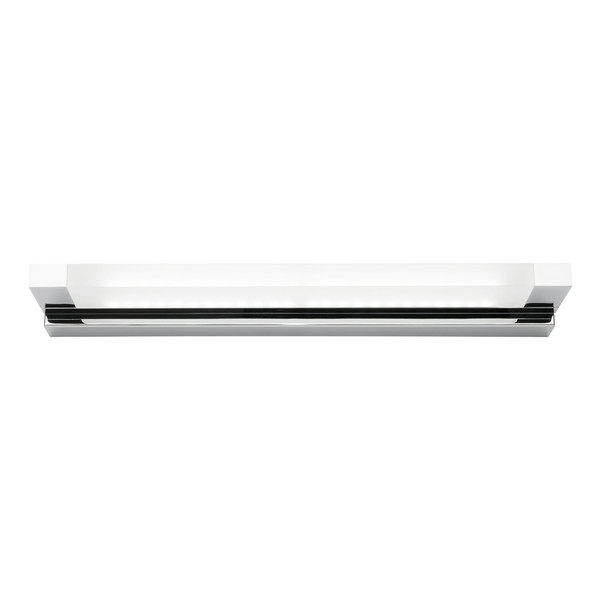 Extreme is a Very Smart Modern Vanity Wall Light Suitable for Bathrooms, Vanity Areas and Bedroom, Hallway or Living Room Walls. Featuring Chrome Finish and Frosted Acrylic Lens with 12W LED Light.