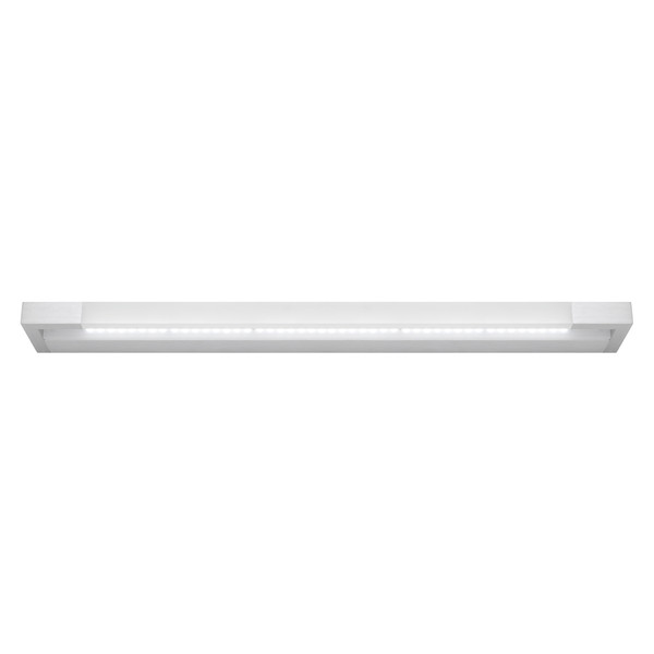 Lynx is a Smooth Modern LED Vanity Wall Light with Aluminium Finish and Frosted Acrylic Lens. Includes 20W Dimmable LED. Perfect for Bathrooms and Vanity Area with Bright Light Output and Stylish Finish.