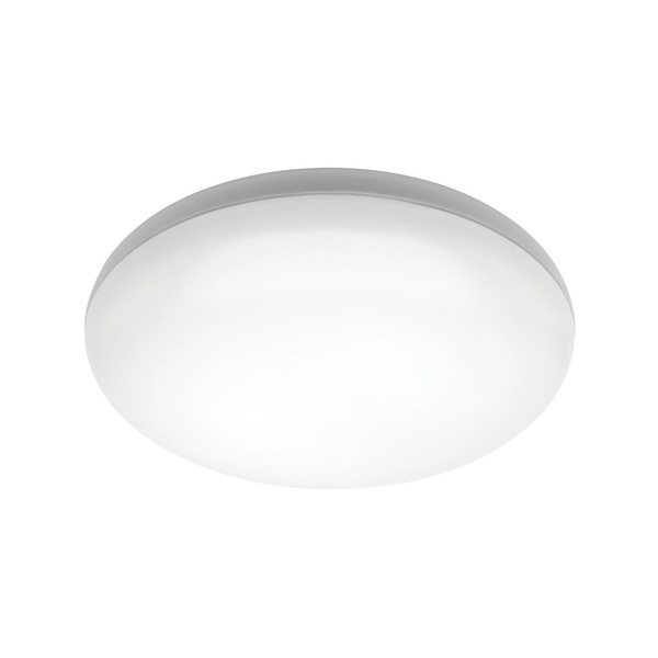 Pando is a Dome Shaped 16W Dimmable LED Oyster Light with White Finish and Opal Acrylic Lens. Pando has an IP44 Weather Rating so can be used Indoors in Bedrooms, Living Areas or Bathrooms as well as in Under Cover Outdoor Areas. Included is a 16W SMD Cool White LED Panel with Dimming Capabilities.