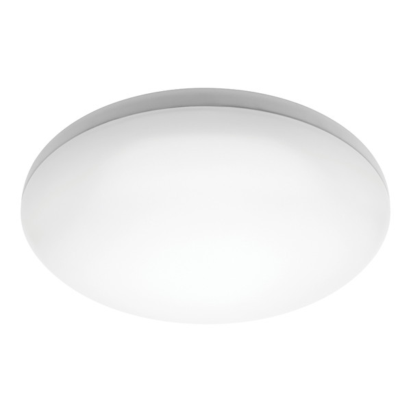 Pando is a Dome Shaped 16W Dimmable LED Oyster Light with White Finish and Opal Acrylic Lens. Pando has an IP44 Weather Rating so can be used Indoors in Bedrooms, Living Areas or Bathrooms as well as in Under Cover Outdoor Areas. Included is a 27W SMD Warm White LED Panel with Dimming Capabilities.