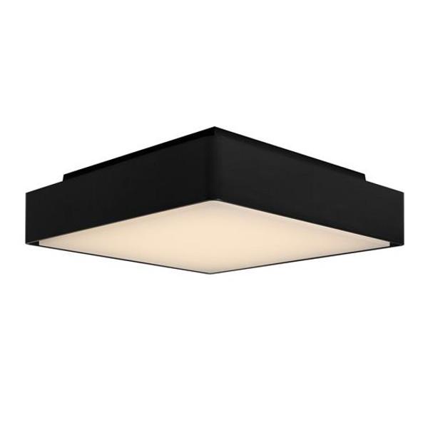 Perth 12W LED Exterior Bunker Light Black